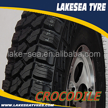 Lakesea 4x4 off road tires jeep tyre M/T 285/75R16 CROCODILE