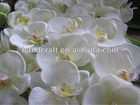 wholesale artificial flowers silk multi color orchid long stem for wedding decoration
