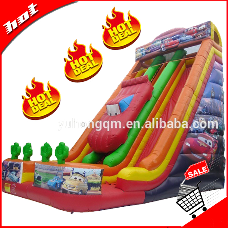 cheap inflatable giant games wet and dry slide for adults new product pvc inflatable water slide