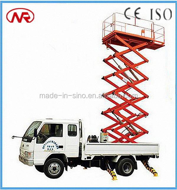 Hydraulic Motorcycle Lift Truck : China hydraulic truck mounted scissor lift used table