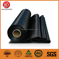 2/3/4mm SBS/APP bitumen waterproof membrane, roll building roof asphalt material