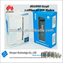 Original Unlock 7.2Mbps E1756 3G HSDPA USB Modem And 3G USB Dongles