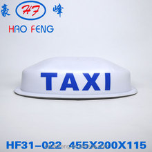 taxi roof sign with magnet/led taxi lamp top advertising/customized