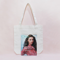 Wholesale  Concise  Cotton White Shopping Handbag Have Many Stock
