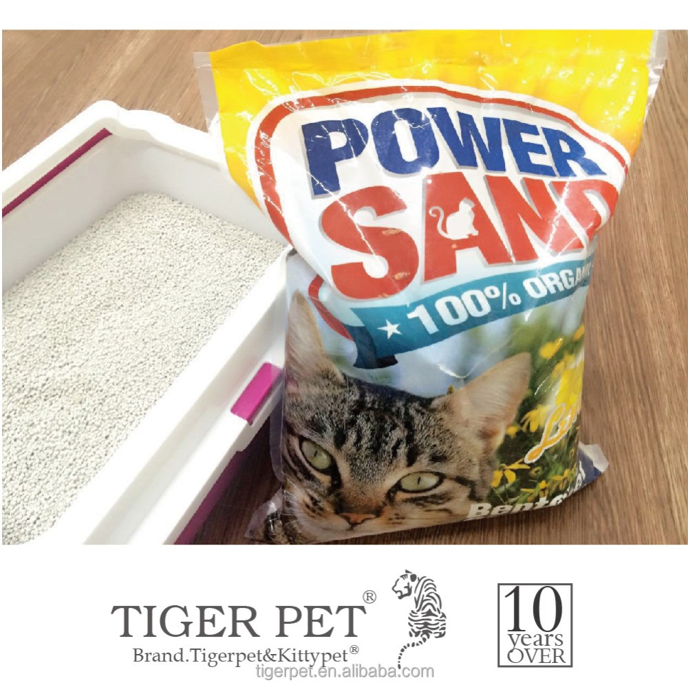 Hot sale super quality columnar bentonite clay cat sand for cat