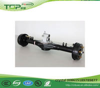 Electric motor / tricycle rear axle differential