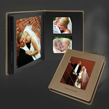 2014 latest design wedding albums photo albums with fabric cover larther cover