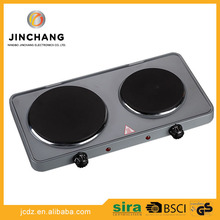 Wholesale electric cooker Hotplate camping 2 double burner hot plate