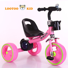Alibaba china factory wholesale cheap price kids pedal tricycle 3 wheel car for sale in philippines