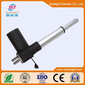 Waterproof diminutive linear actuator electric motor 12V 24V for leisure bed
