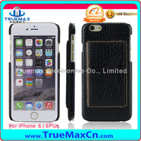 Stylish custom for iphone 6 6s pu leather back cover case