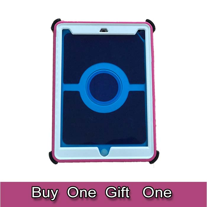 High Quality Full Cover Tablet PC case, 10 Tablet, For ipads Air 2 Flip Cover defender Case