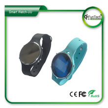 Plastic cheap smart watch bluetooth phone with CE certificate