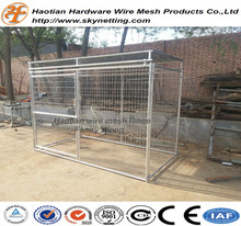 wholesale outdoor large iron fence dog kennel/chain link fence prices/the dog kennel