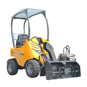 mini chinese wheel loader price