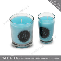 100% natural soy wax scented candle