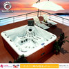 SpaRelax Classical Model Bathroom Massage Spa/Outdoor Jacuzzy/Whirlpools for 5 Person with Up-Down TV