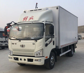 6-7 meters 3-4 ton JF Refrigeration units frozen food transportation/milk transporting/vaccine