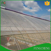 2017Good quality and new arrival agriculture poly film tunnel greenhouse/plastic film for greenhouse/garden plastic shed