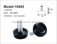 self leveling feet / swivel threaded plastic adjustable knob