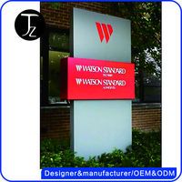 Customized Outdoor Metal Sign Board Supplies