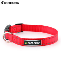 Wholesale Reflective Nylon Dog Collar for Pet Safety from China