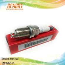 Top quality motorcycle spark plugs for hondas 9807B-5617W,IZFR6K-11