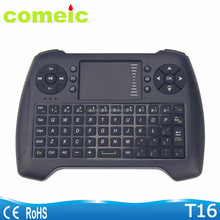 Keyboard Wireless with Mouse Touchpad Remote 2.4G Wireless Mini Touchpad Keyboard for Android Tv Box