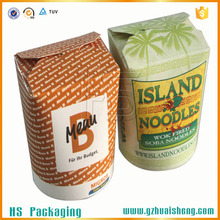 Disposable CMYK Printing Food Grade Paper Take Away Noodle Box Wholesale