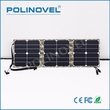 Waterproof material portable folding design foldable solar panel charger