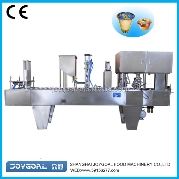 pudding cup packing machine