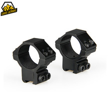 Tactical 30mm Ring Scope Mount Picatinny Weaver Rail