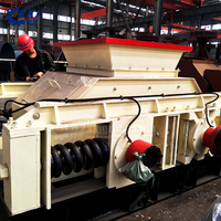 High Quality Electric Fine Crushing Double Rollers Crusher On Sale