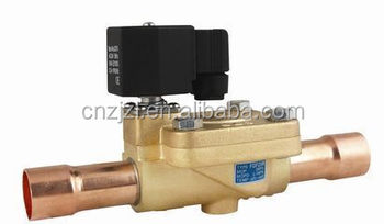 Solenoid Valve For Refrigeration Condensing Unit