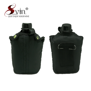 Outdoor Military Plastic Water Canteen with Custom Logo