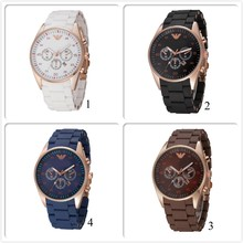 2015 Latest style brown lady watch geneva women silicon watch new arrival popular fashion with stones on the face