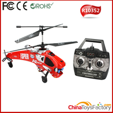 R10352 4 Channel Gyro RC Helicopter Radio Controlled Planes Jet