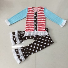 Summer clothes shishi kids clothes girls clothes sets boutique clothing