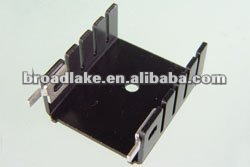 aluminium semiconductor stamped heat sink (for electronic components etc.)