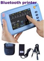 CE Marked surgical equipment cheap multi-parameter patient monitor price with LCD Color Display china supplier