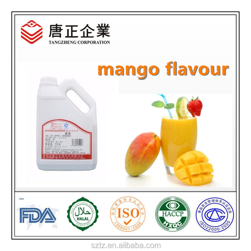 Beverage Used Water&Oil Soluble Liquid Concentrate Mango Pulp Flavour