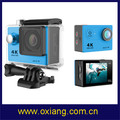 new product high quality sport camera/4k sport camera/waterproof sport camera made in china