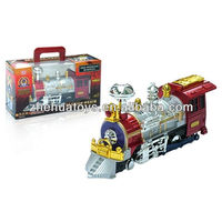 Kids Electric Motive Train track Toy with music,lights,Toys For Christmas Promotion