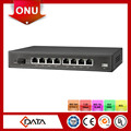 low cost optical splitter FTTH GEPON ONU 8 FE epon onu fiber optic converter for catv