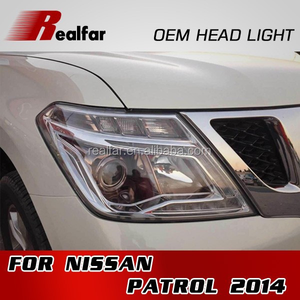 HOT SALE OEM HEAD LAMP LED HEAD LIGHT FOR PATROL 2014