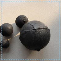 low breakage rate cast iron balls