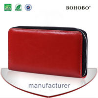 Custom blu sublimaion leather wallet cell phone case for iphone 5