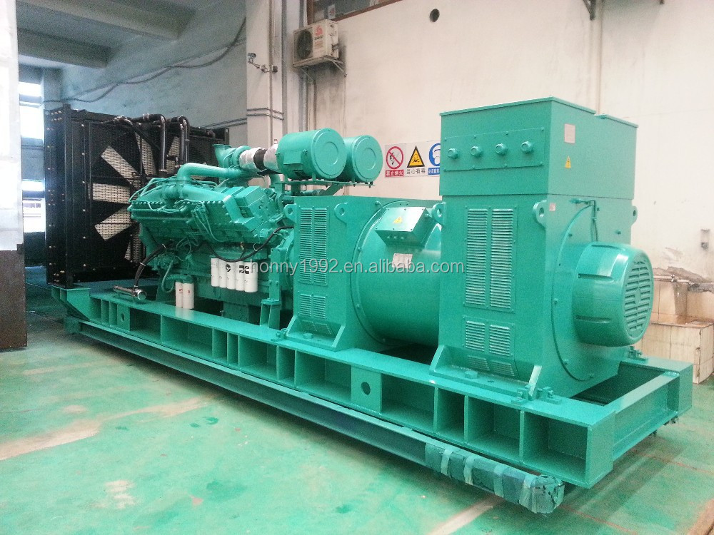 Container 11kV Medium Voltage 1000kW 1250kVA Generator set