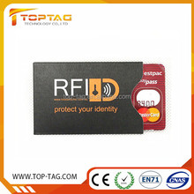 professional rfid blocking card holder anti identity theft rfid blockind card Sleeves e-passports
