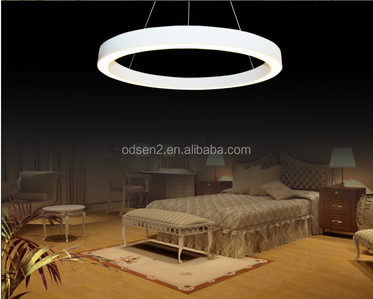 wholesale fancy hanging acrylic ring pendant lamp
